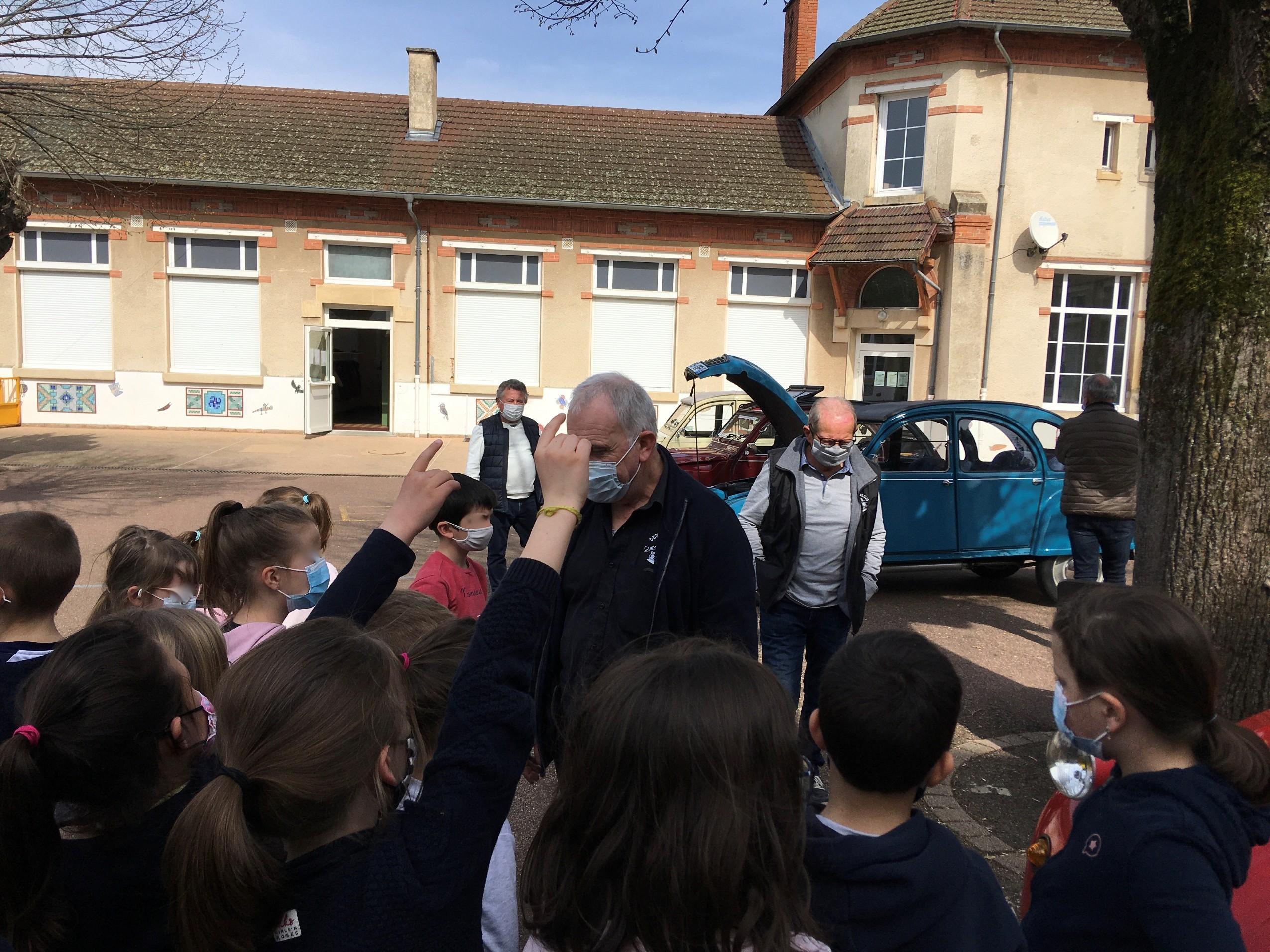 Ecole de La Clayette 26/03/21