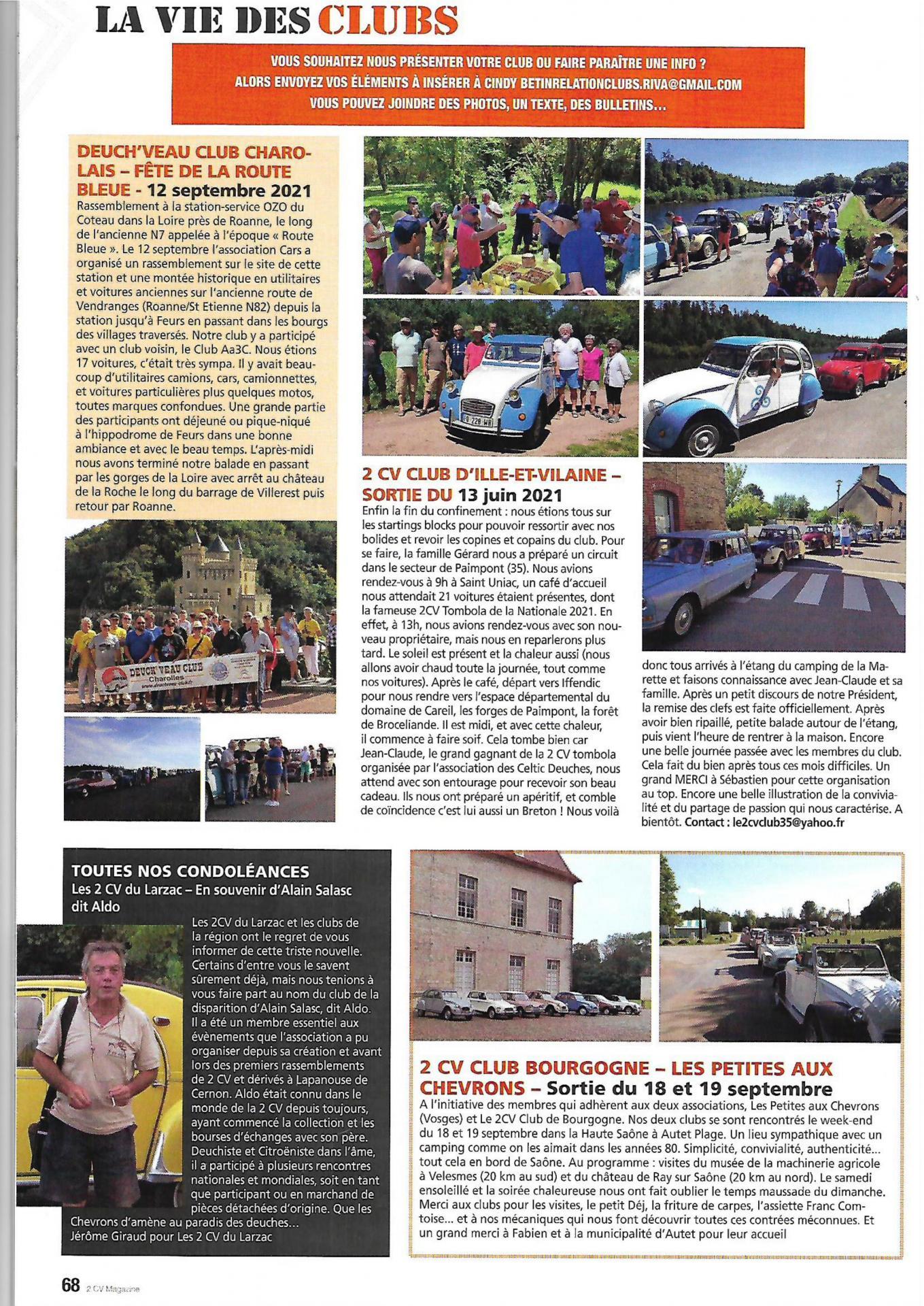 2 cv Magazine...