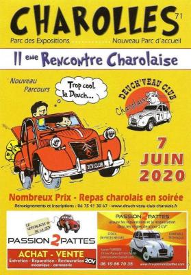 11eme rencontre charolaise Dimanche 7 Juin