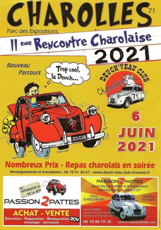 Affiche 2021 rencontre charolaise