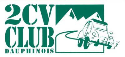 Logo 2cv club dauphinois